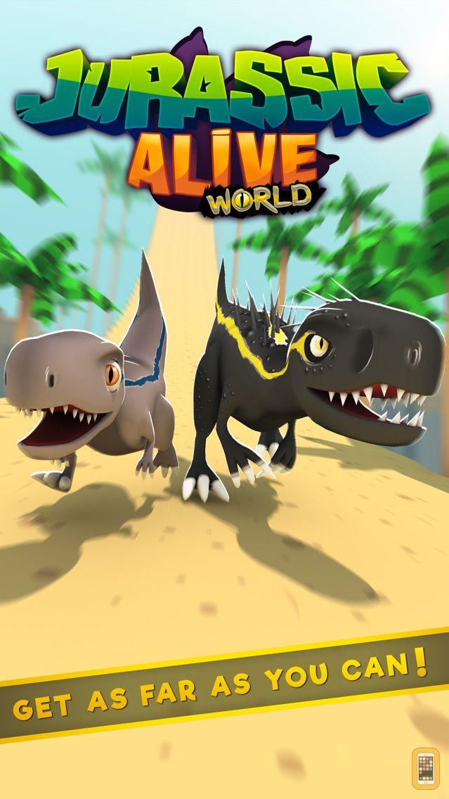 Screenshot - Jurassic Alive: World T-Rex
