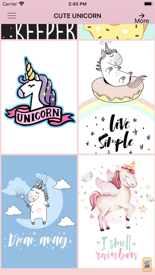 Cute Unicorn Wallpapers For Iphone Ipad App Info Stats