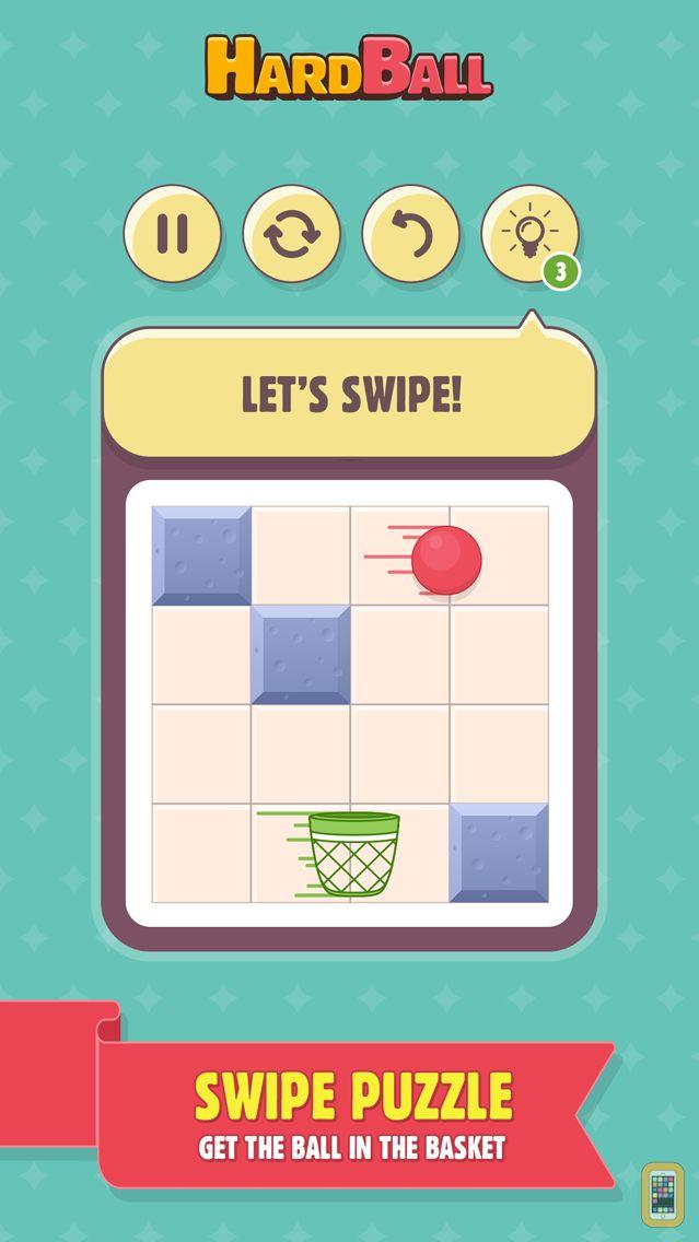 Screenshot - HardBall: Swipe Puzzle