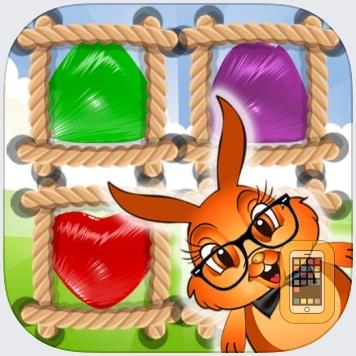 Bunny Drops 2 - Match 3 puzzle by ROBERTO MANONGDO (Universal)
