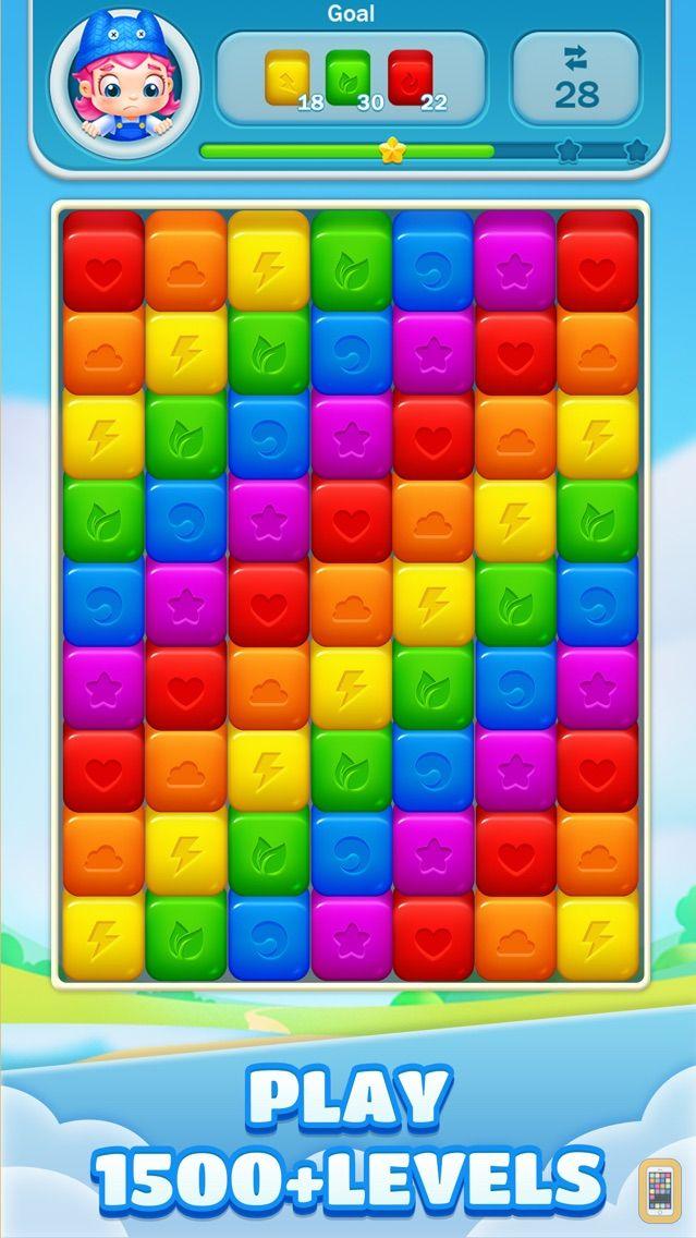 Screenshot - Toy Cubes Pop:Blast Cubes