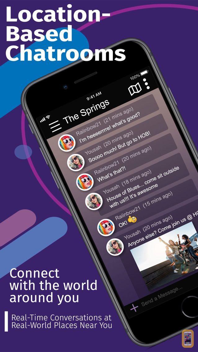 Screenshot - PROX Chat Rooms