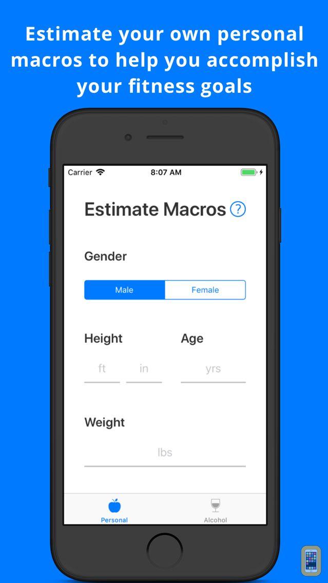 Screenshot - Find Your Macros