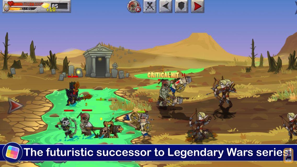 Screenshot - Monster Wars - GameClub