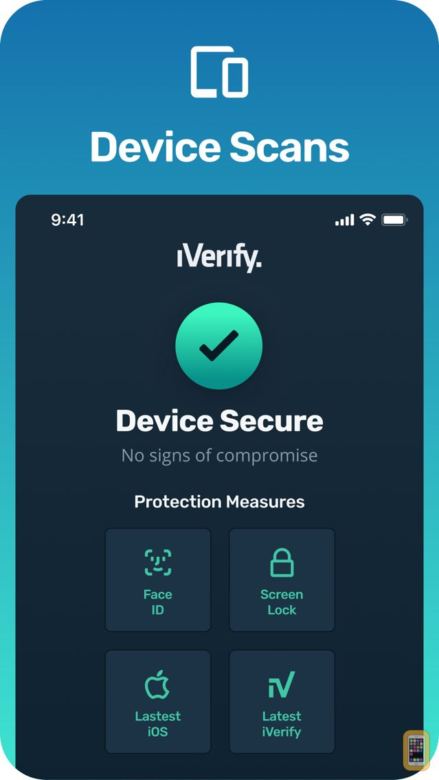 Screenshot - iVerify.