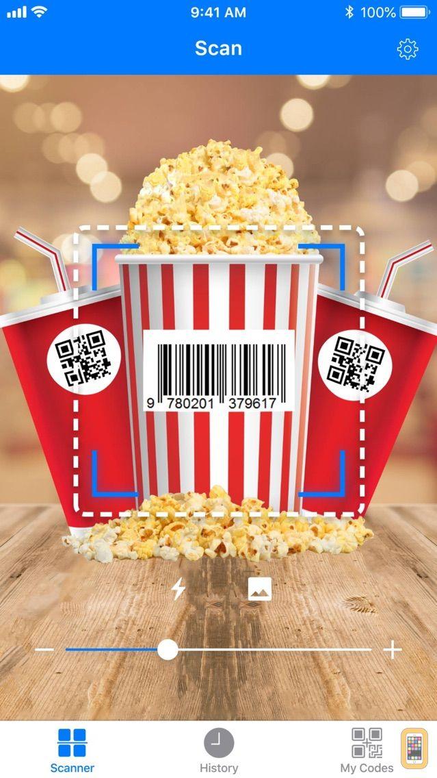 Screenshot - Barcode: QR code scanner