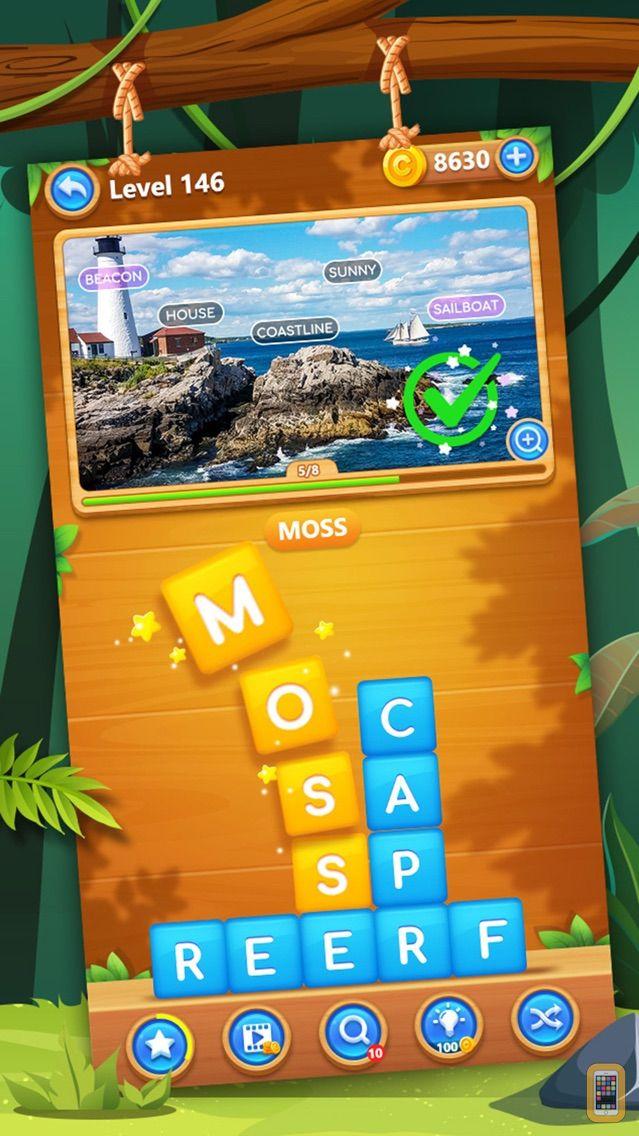 Screenshot - Word Swipe Pic