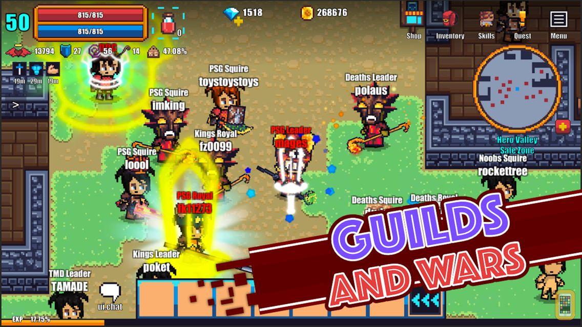 Screenshot - Pixel Knights Online - MMORPG