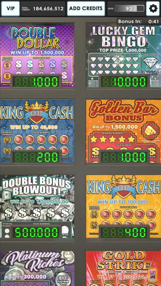 Screenshot - Lucky Lottery Scratchers