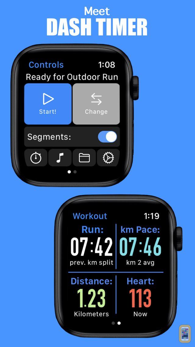 Screenshot - Dash Timer - Workout Companion