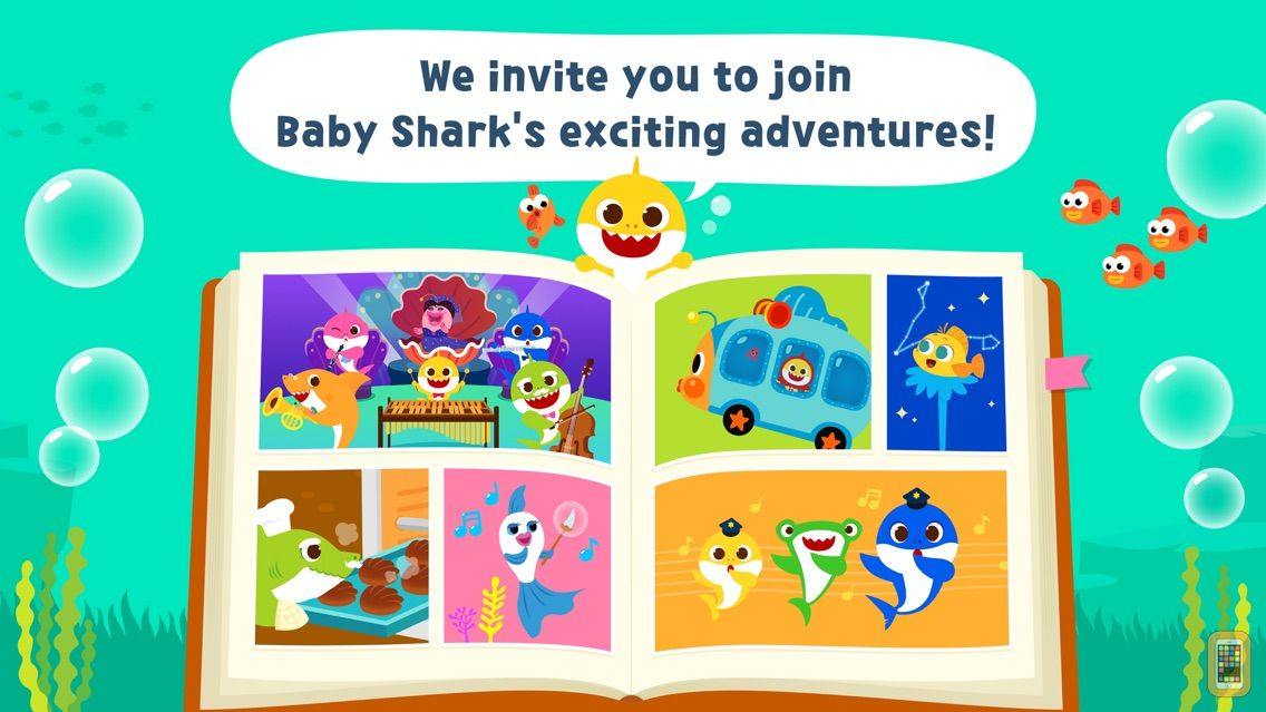 Screenshot - Pinkfong Baby Shark Storybook