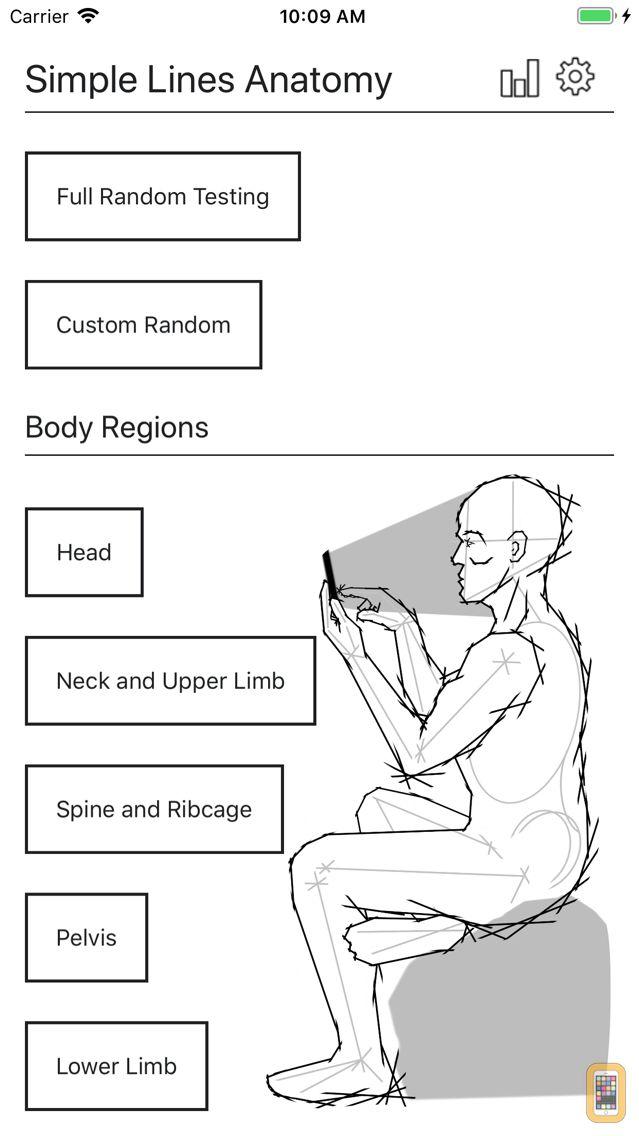 Screenshot - Simple Lines Anatomy