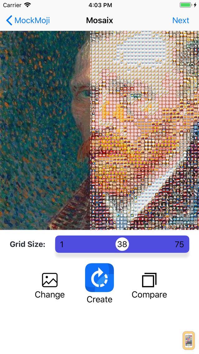 Screenshot - Make your own emoji sticker