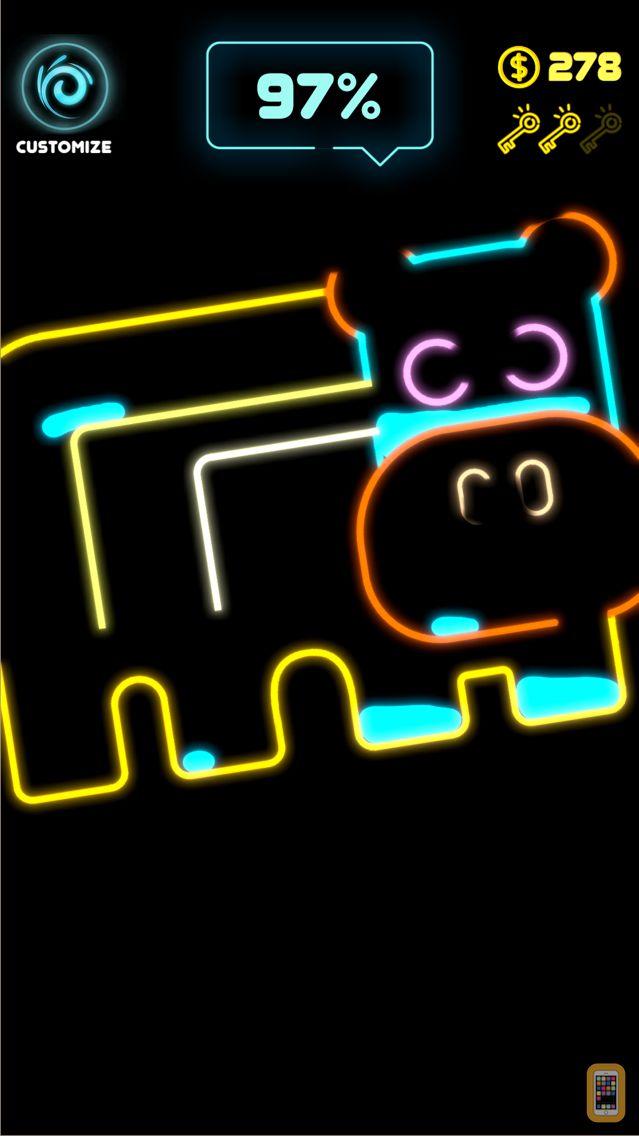 Screenshot - Neon Splash