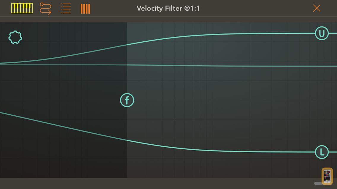 Screenshot - Velocity Filter