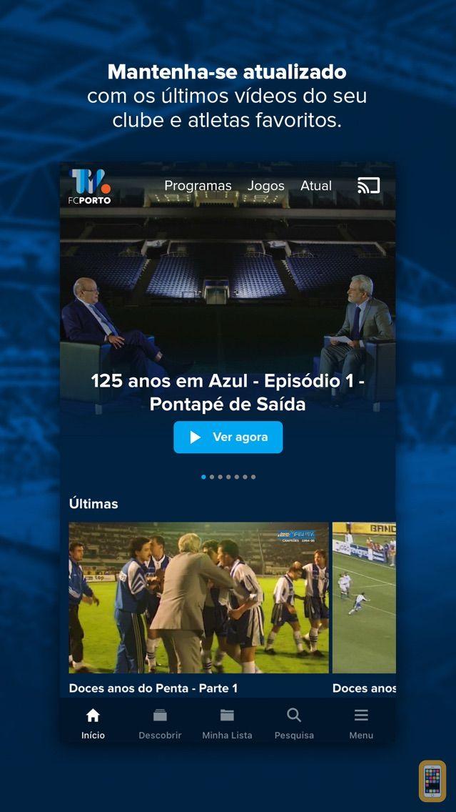 Screenshot - FC Porto TV
