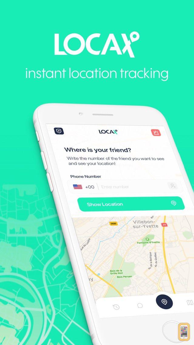 Screenshot - Locax - Find Location