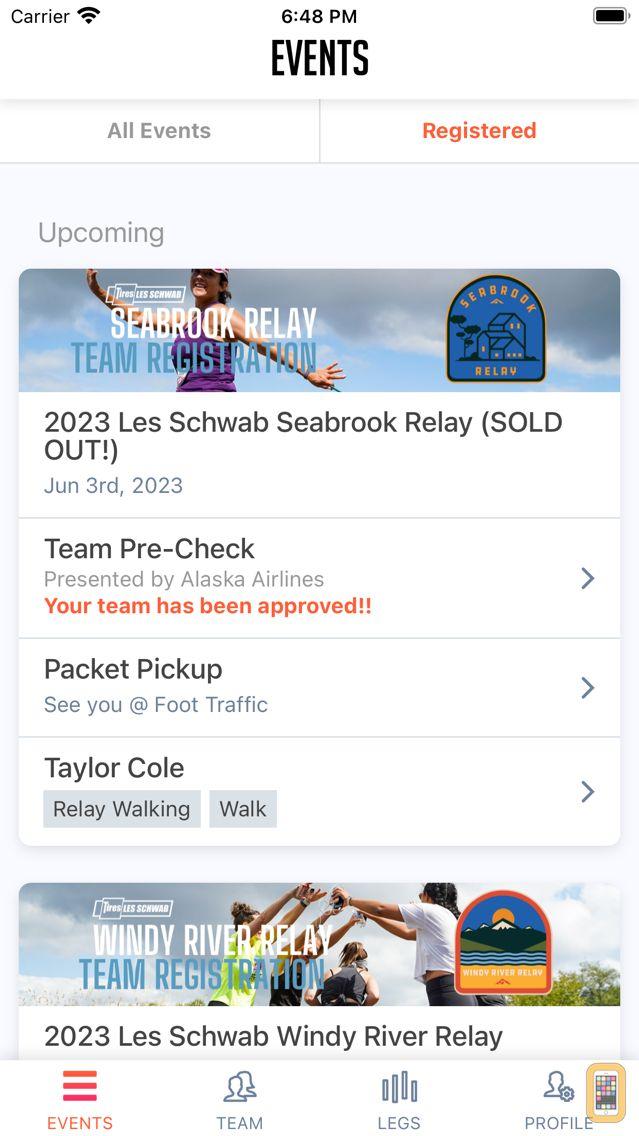Screenshot - HTC Timing