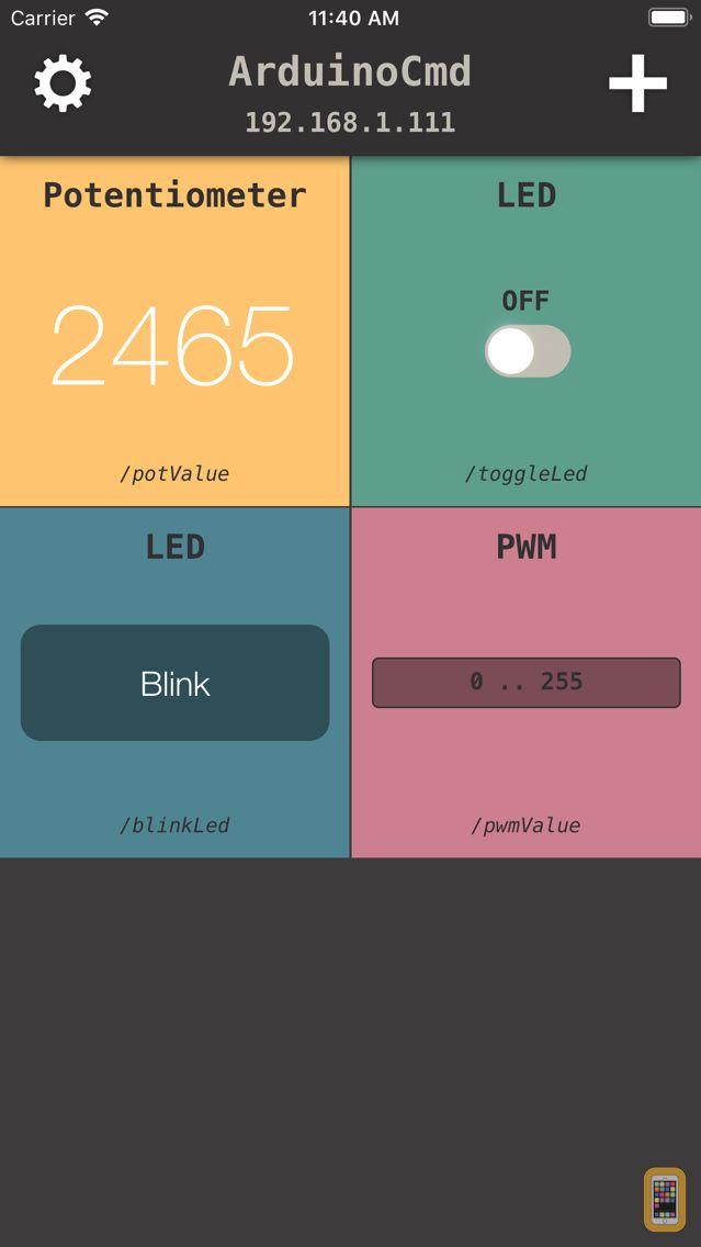 Screenshot - Arduino Commands