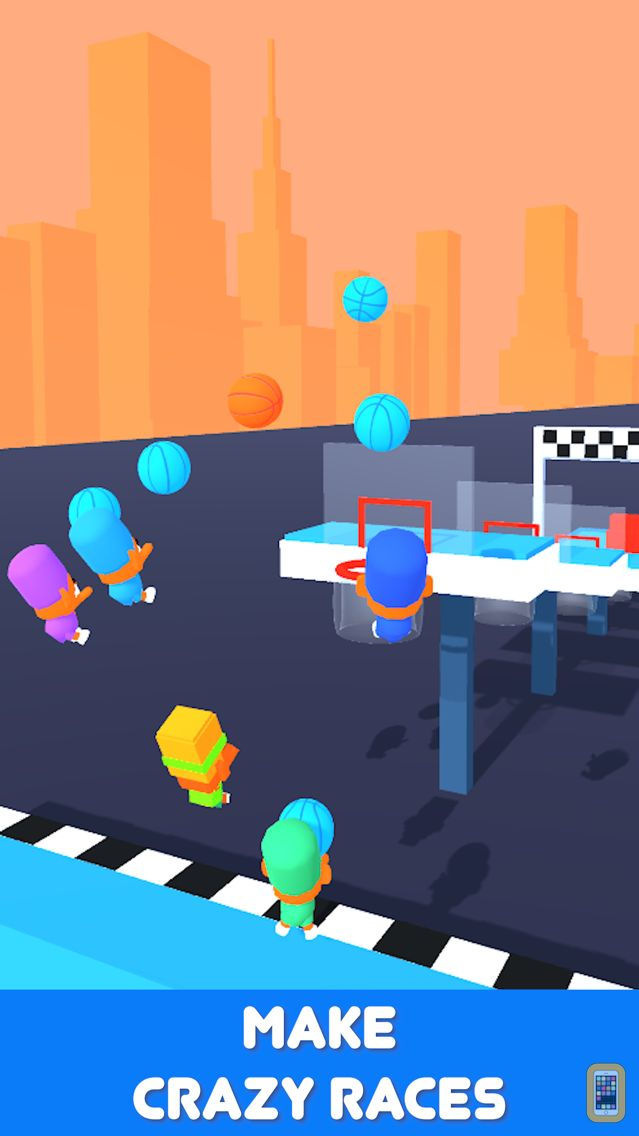 Screenshot - Basket Race 3D