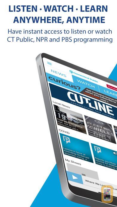 Screenshot - The Connecticut Public App