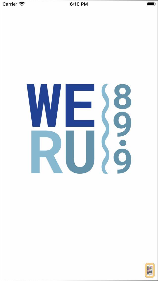 Screenshot - WERU Community Radio App