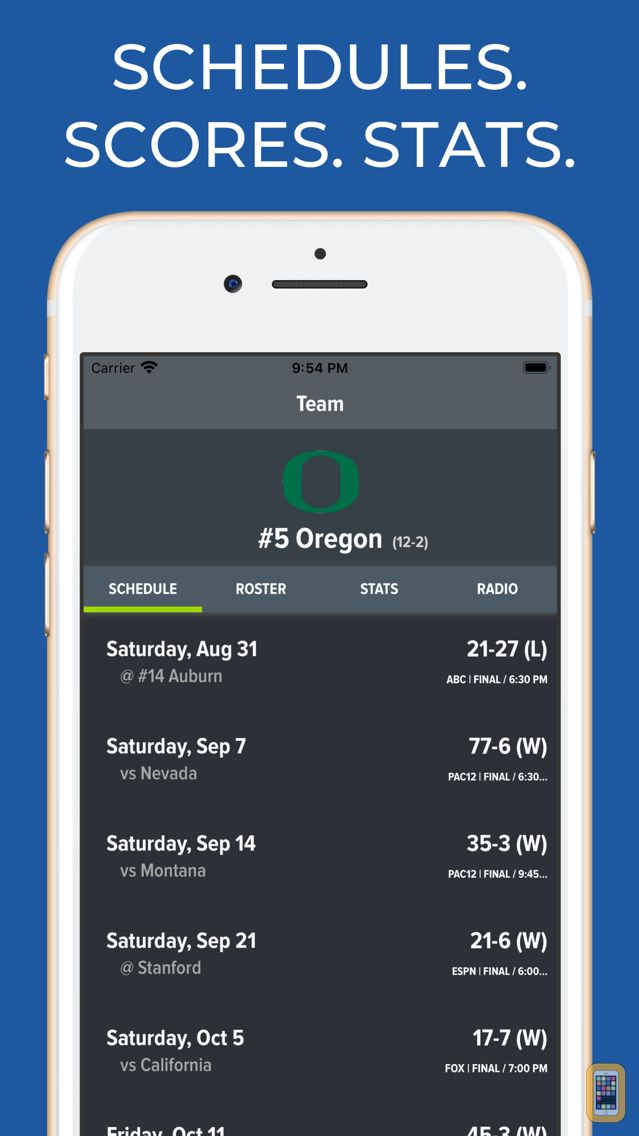 Screenshot - Oregon Football