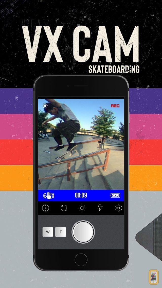Screenshot - VX Cam - Skateboard Camcorder
