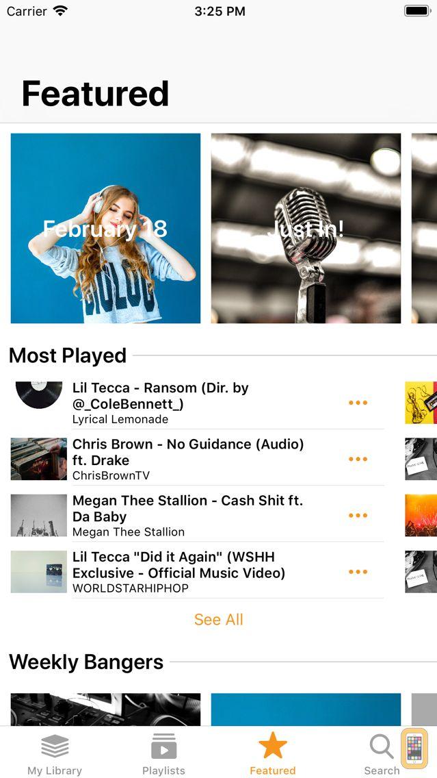 Screenshot - J Music - New Music Streaming
