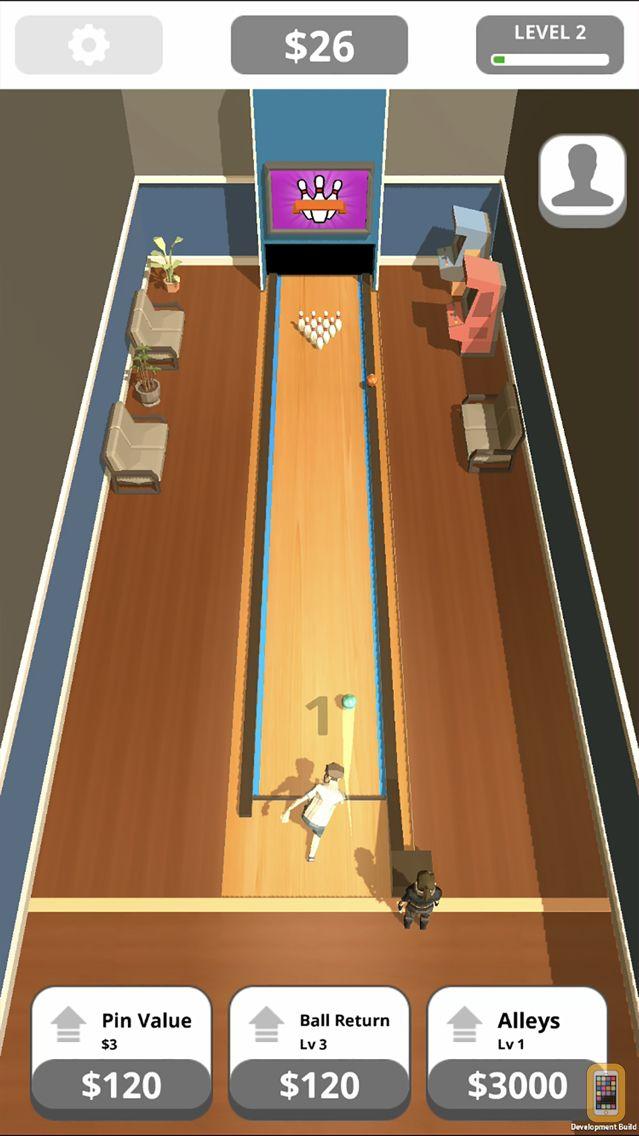 Screenshot - Idle Tap Bowling