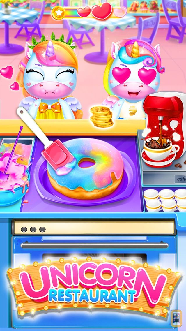 Screenshot - Unicorn Restaurant: Food Games