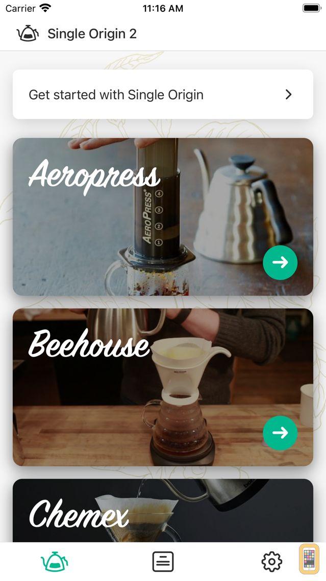 Screenshot - Single Origin 2 - Coffee Timer