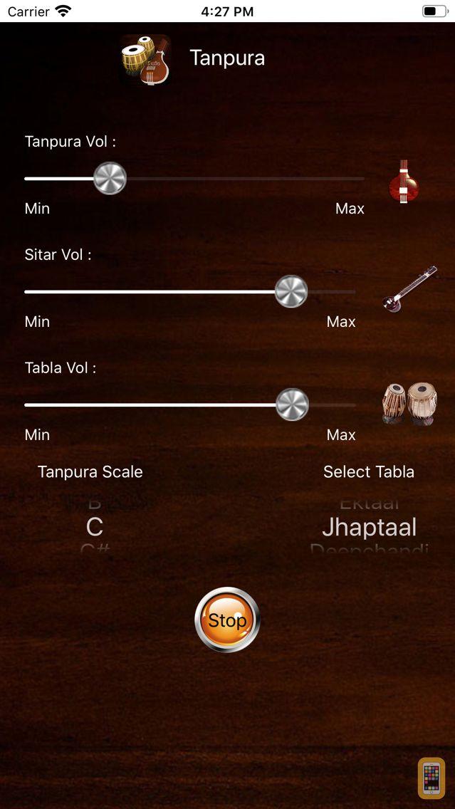 Screenshot - Tanpura With Tabla & Sitar