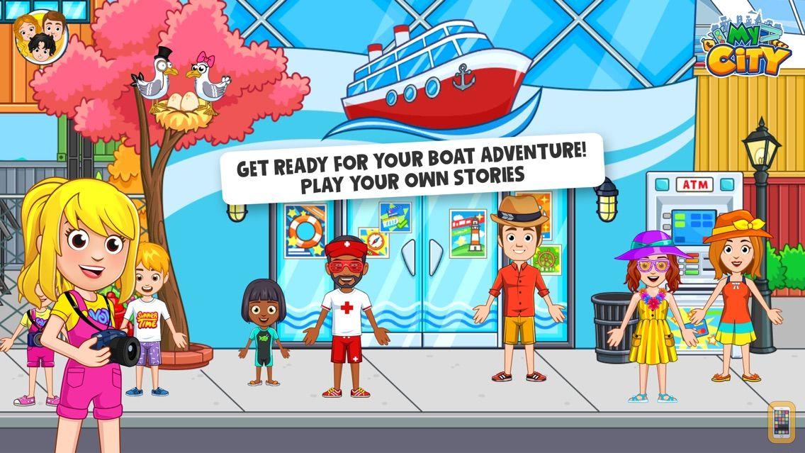Screenshot - My City : Boat Adventures