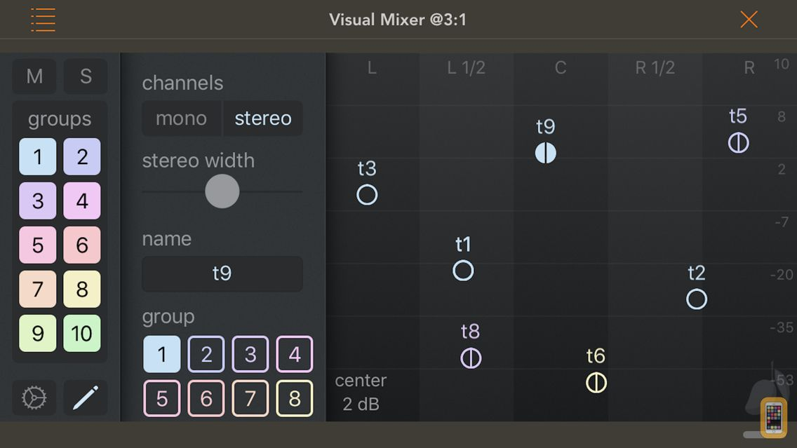 Screenshot - Visual Mixer
