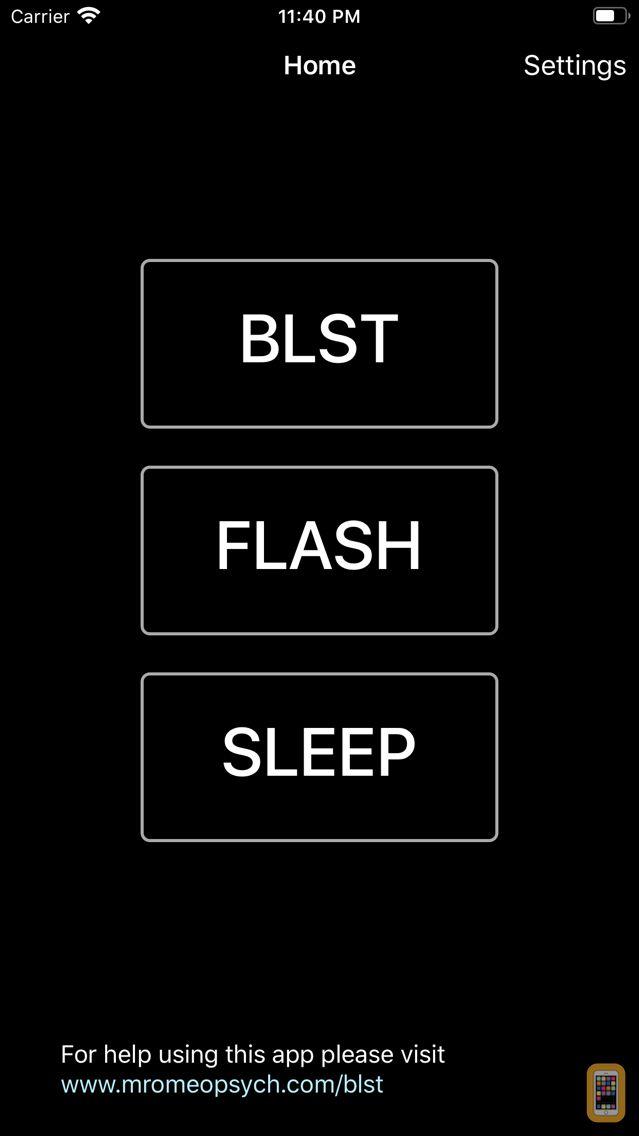 Screenshot - Bilateral Stimulation Therapy
