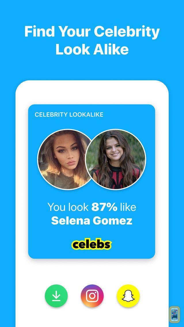Celebs - Celebrity Look Alike for iPhone - App Info