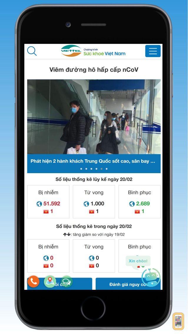Screenshot - Sức khỏe Việt Nam