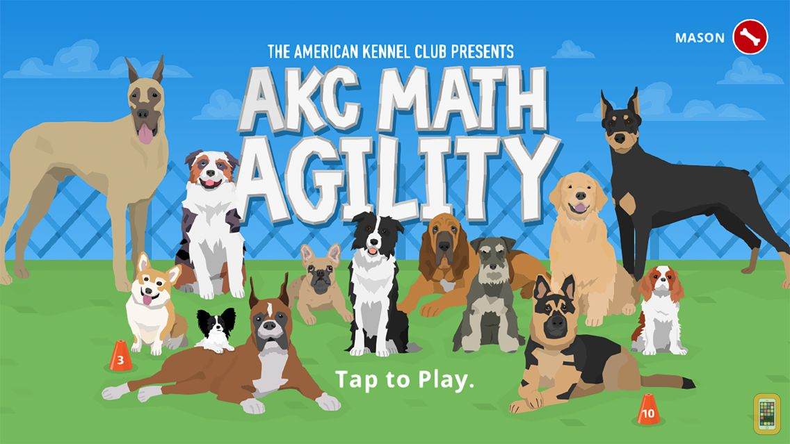 Screenshot - AKC Math Agility