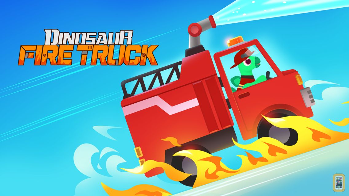 Screenshot - Dinosaur Fire Truck: Kids Game