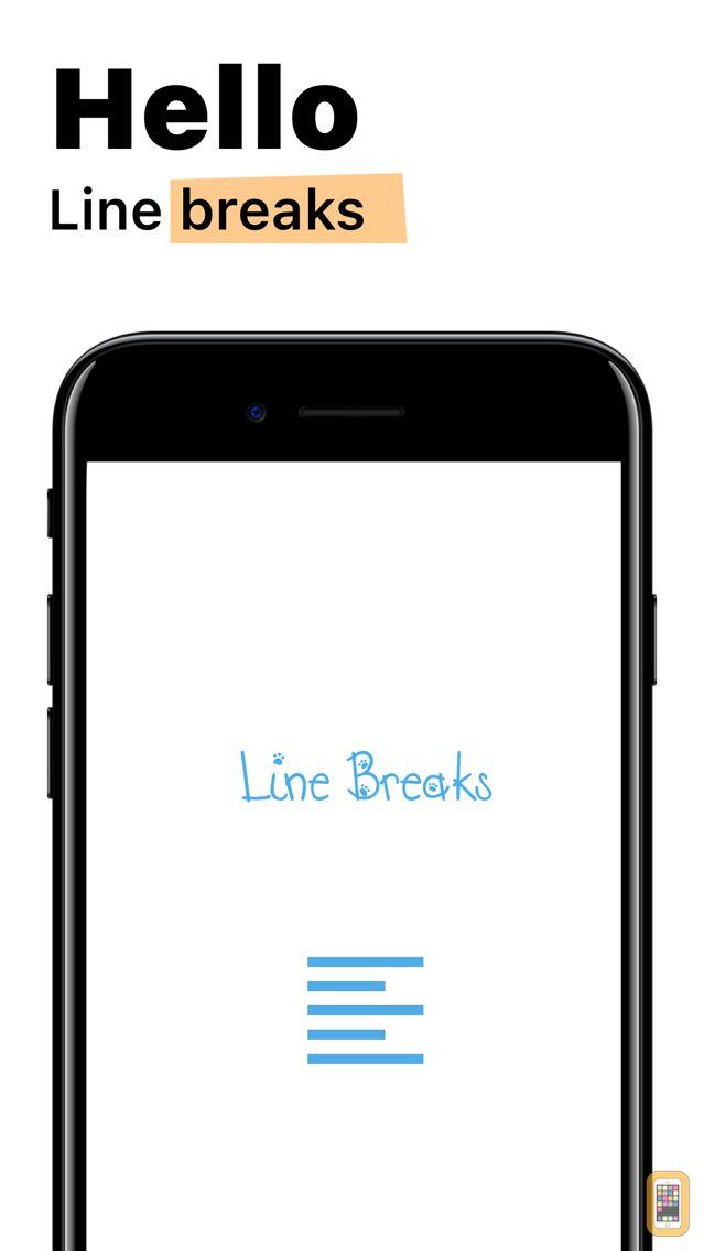 Screenshot - Line Breaks for Instagram
