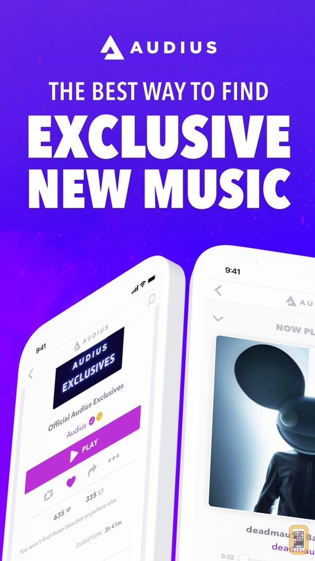 Screenshot - Audius Music