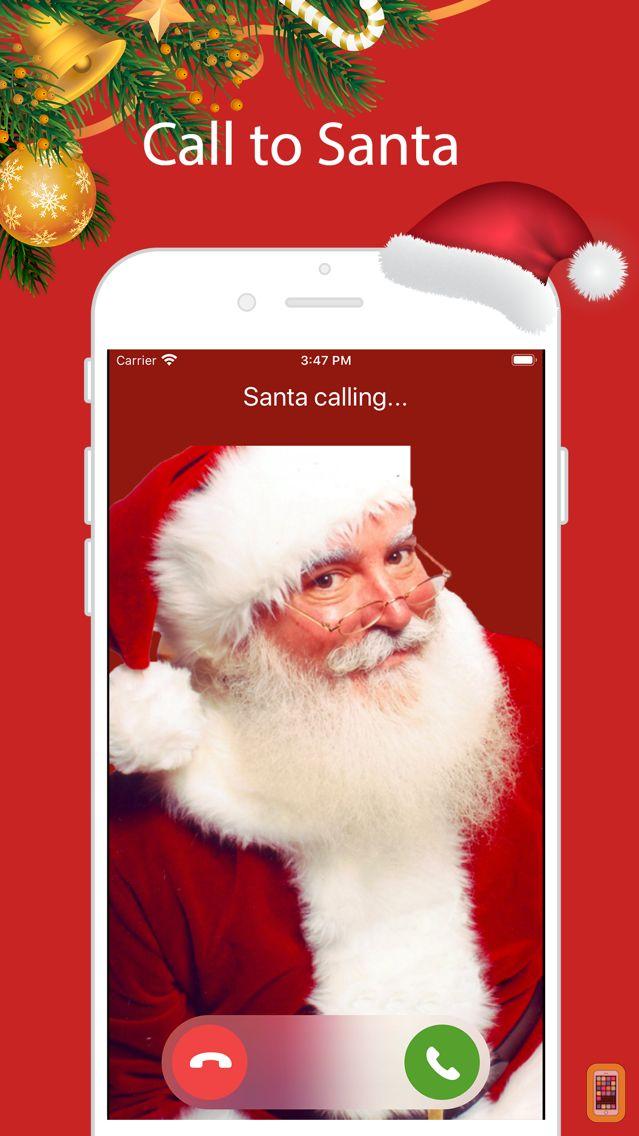 Screenshot - Santa Video Call & Ringtones