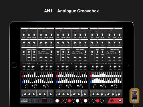 Screenshot - AN1 Analogue Groovebox