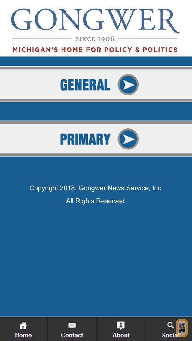 Screenshot - 2020 Michigan Elections