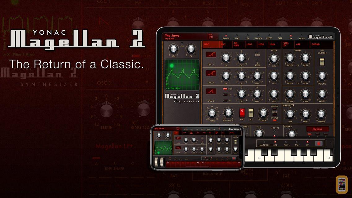 Screenshot - Magellan Synthesizer 2