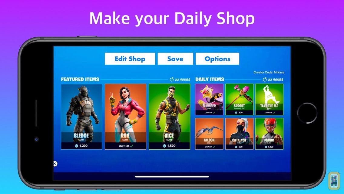 Screenshot - Shop Maker Quiz for Fortnite