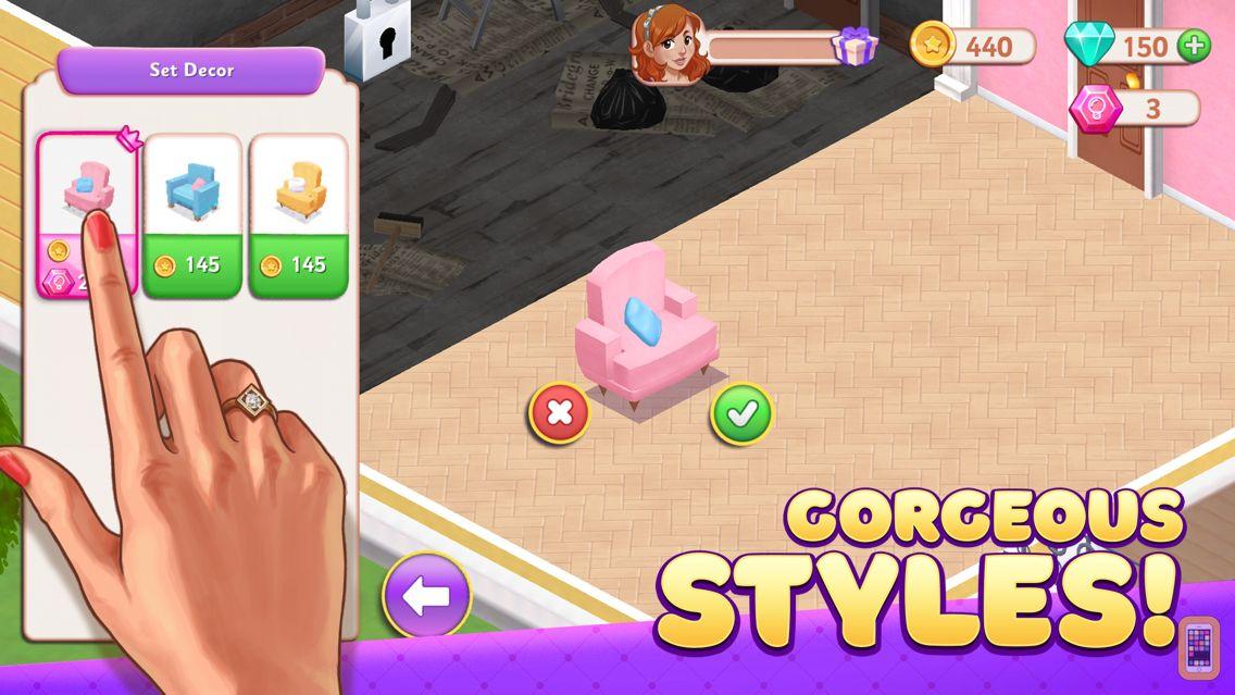 Screenshot - Decor Dream - Home Design Game