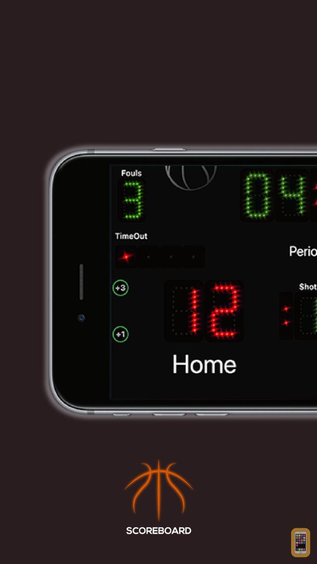 Screenshot - Scoreboard Basket