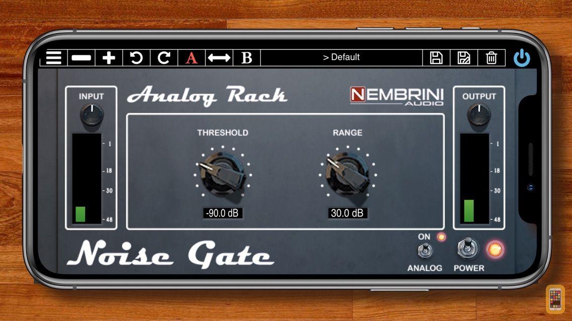 Screenshot - Analog Rack Noise Gate
